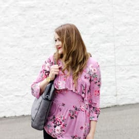 the FLORA top sewing pattern!