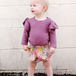 PAPER BAG WAIST BABY BLOOMERS
