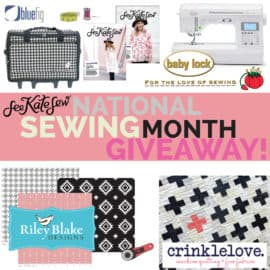 HUGE $2000 SEWING GIVEAWAY!