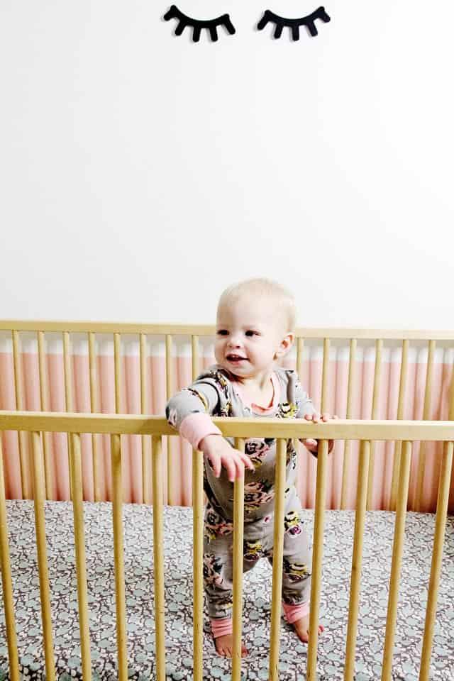 DIY CRIB SHEET | easy crib sheet sewing tutorial | how to sew a crib sheet | diy baby items || See Kate Sew #diybaby #diycribsheet #cribsheettutorial
