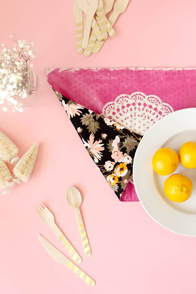 Diy Gift Guide Boho Reversible Placemat Tutorial With