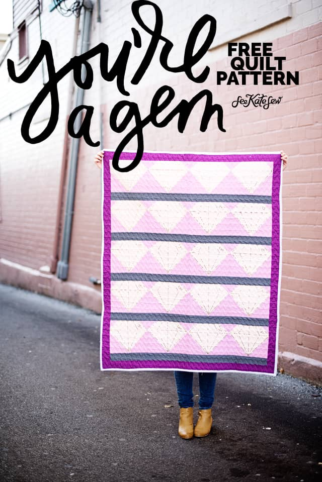 Quilting with the Cricut Maker | Quilt Block of The Month | diy quilt for beginners | free quilt patterns | diy quilt | quilt tutorial | cricut tutorials | how to make a quilt || See Kate Sew #freepattern #quiltpatterns #cricut