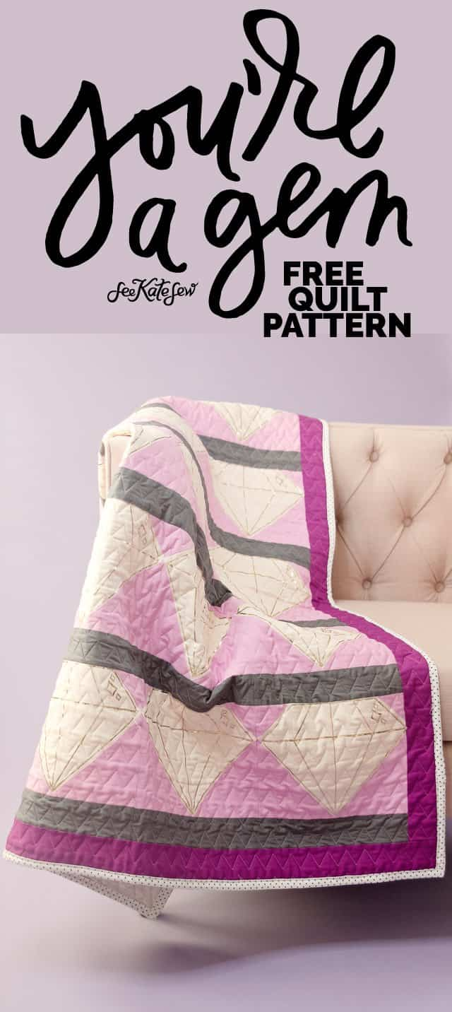 Quilting with the Cricut Maker | quilting | diy quilt for beginners | free quilt patterns | diy quilt | quilt tutorial | cricut tutorials | how to make a quilt || See Kate Sew #freepattern #quiltpatterns #cricut