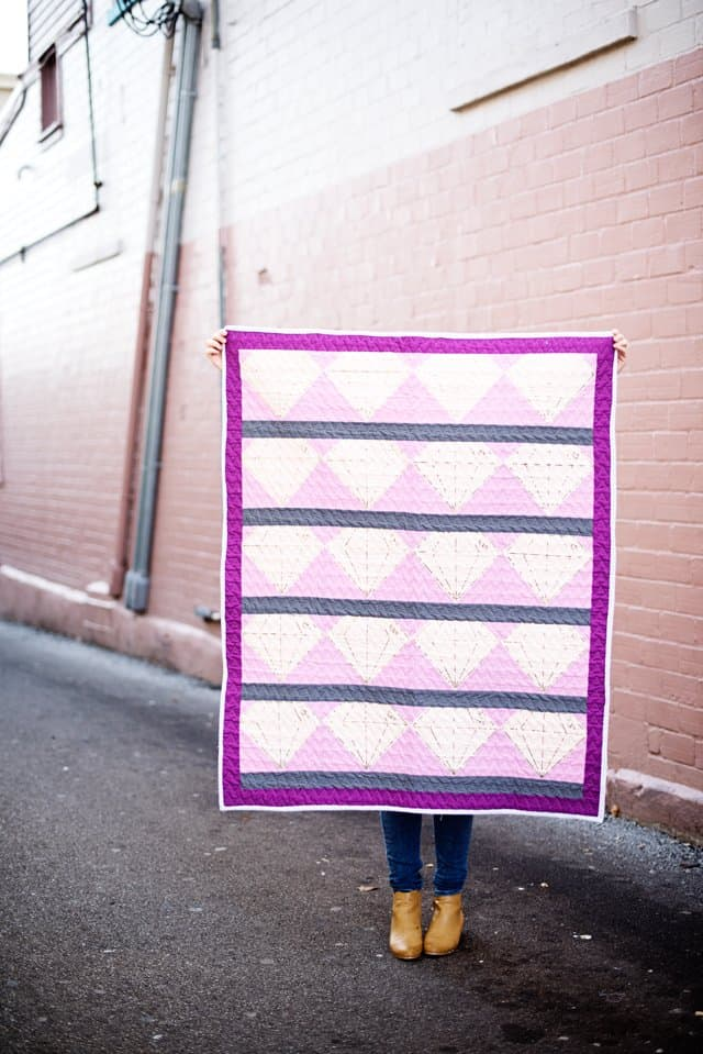 Quilting with the Cricut Maker | Gem Quilt | diy quilt for beginners | free quilt patterns | diy quilt | quilt tutorial | cricut tutorials | how to make a quilt || See Kate Sew #freepattern #quiltpatterns #cricut