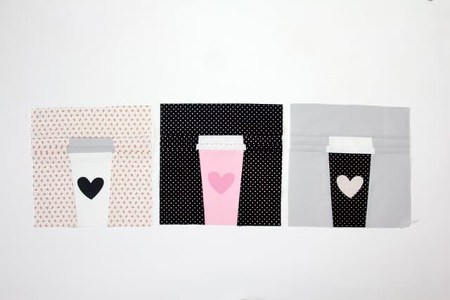 Cricut Maker Quilting // Coffee Cup Block