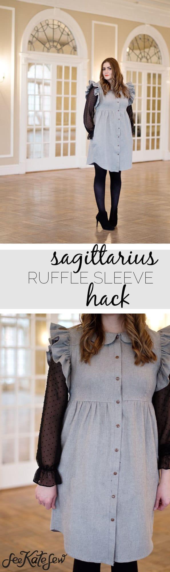 Sagittarius Ruffle Sleeve Hack | See Kate Sew