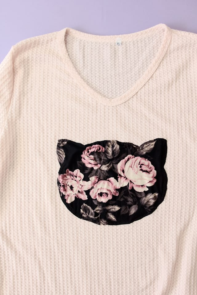 Cat Sweater DIY   5 Sweater Refashions for Beginners!   how to refashion a sweater   sweater refashion ideas   sewing tips and tricks   diy clothing tutorials    see Kate sew #sweaterrefashion #diyclothing #sewingtutorials
