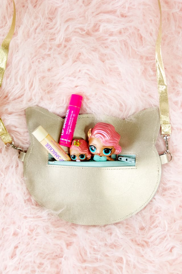 Gold Leather Kitty Purse Diy With The Cricut Maker See
