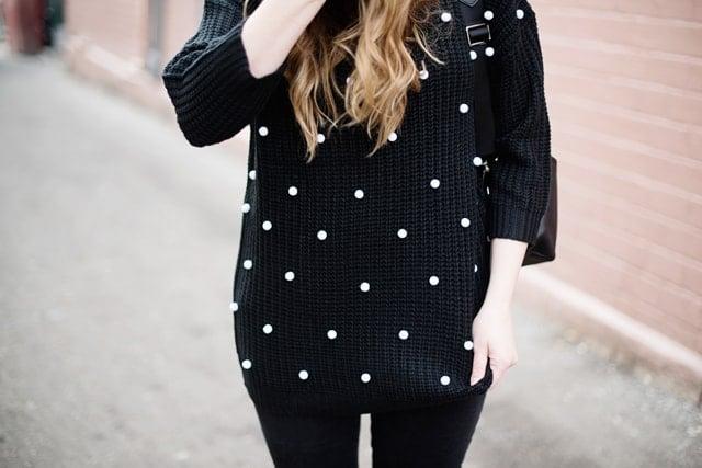 Pom Pom Sweater DIY
