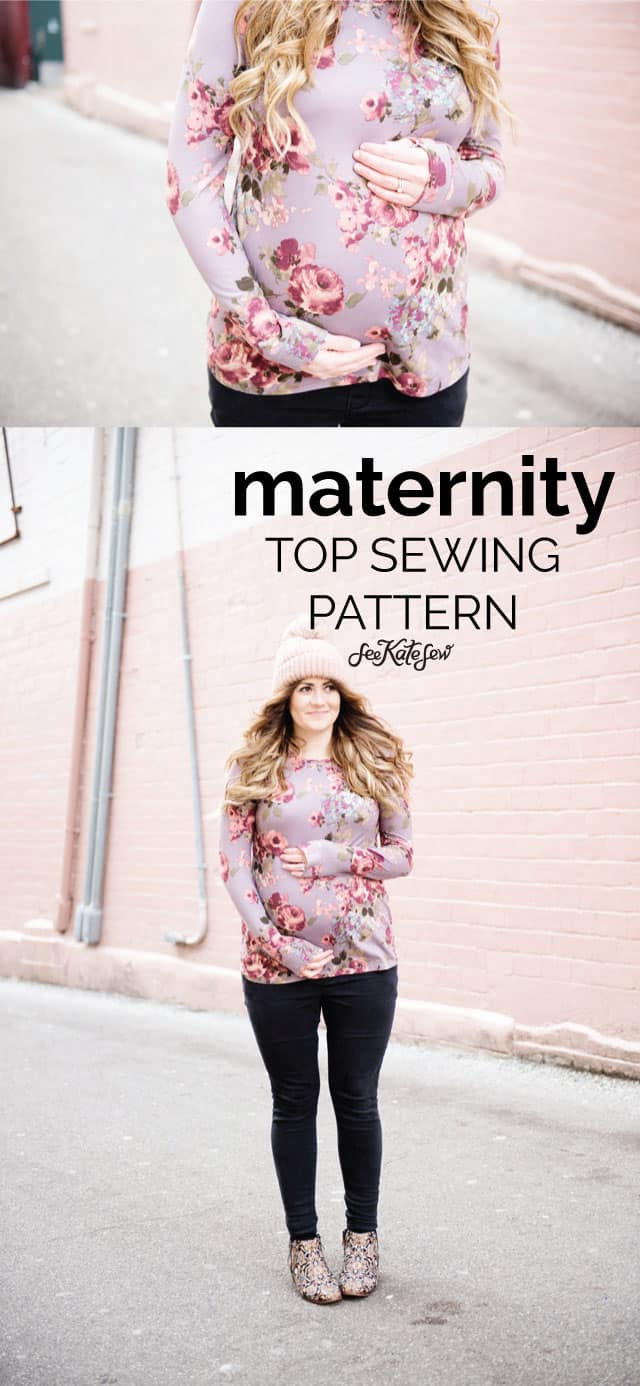 Maternity Sewing Series #1 | See Kate Sew