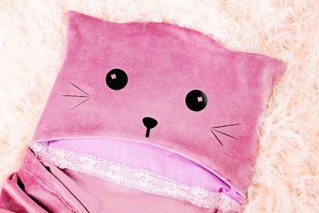 Cat Hooded Blanket Tutorial | See Kate Sew