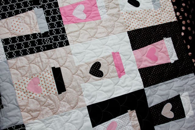 Coffee Cup Quilt Block Pattern