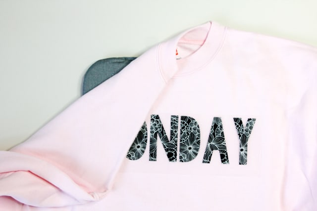 Days of the Week Shirts Tutorial