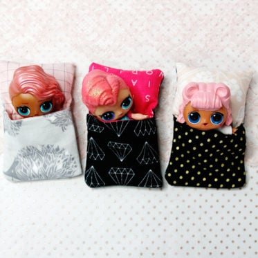 Doll Sleeping Bag Tutorial | See Kate Sew