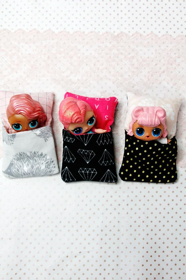 Little Doll Sleeping Bag Tutorial See Kate Sew