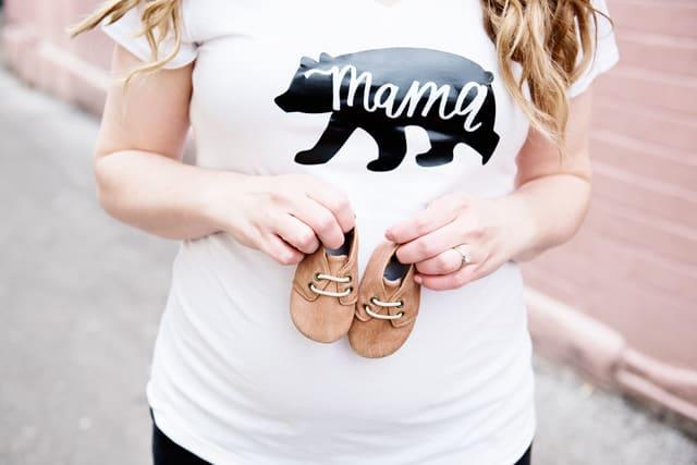 Mama Bear Tee - Free SVG File   See Kate Sew