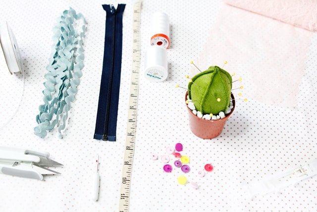 Cactus Pincushion Tutorial + Pattern
