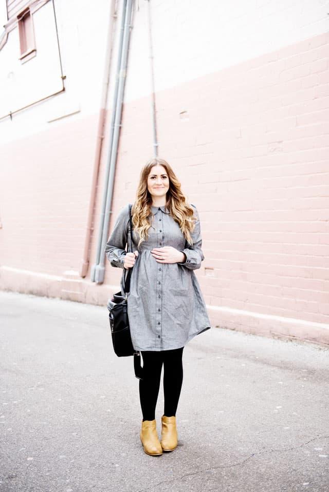 DIY Maternity Dress Pattern
