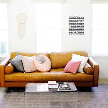 Living Room Tour + Article Sven Sofa Review