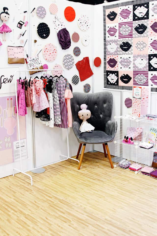Kiss Me Kate Quilt Market Booth || See Kate Sew #seekatesew