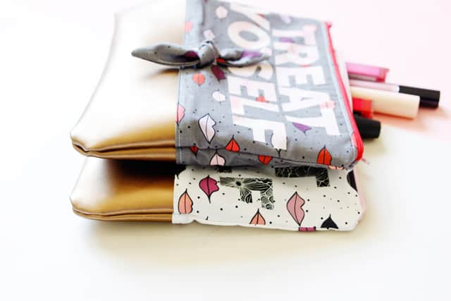 Fabric & Leather Pouch Template with the Cricut Maker