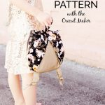 Girl's Backpack Sewing Pattern with Simplicity and Cricut