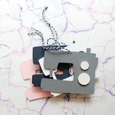 Sewing Machine Ornament | See Kate Sew
