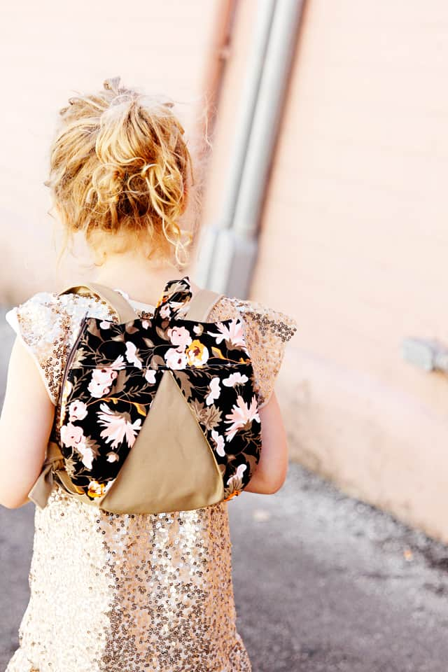 Easy Backpack Sewing Pattern | Backpack pattern | Sewing pattern for a backpack | DIY Backpack | Sewing Pattern with Cricut Maker | DIY Cricut Maker Project || See Kate Sew #backpackpattern #cricutmakerpattern #diybackpack #seekatesew