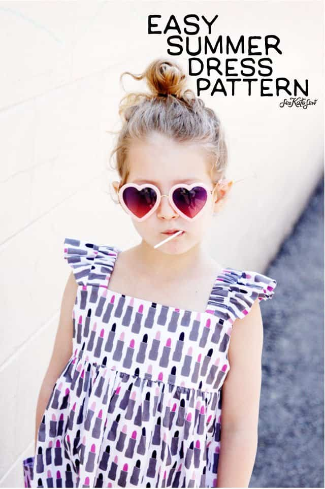 Easy Summer Dress Pattern | See Kate Sew