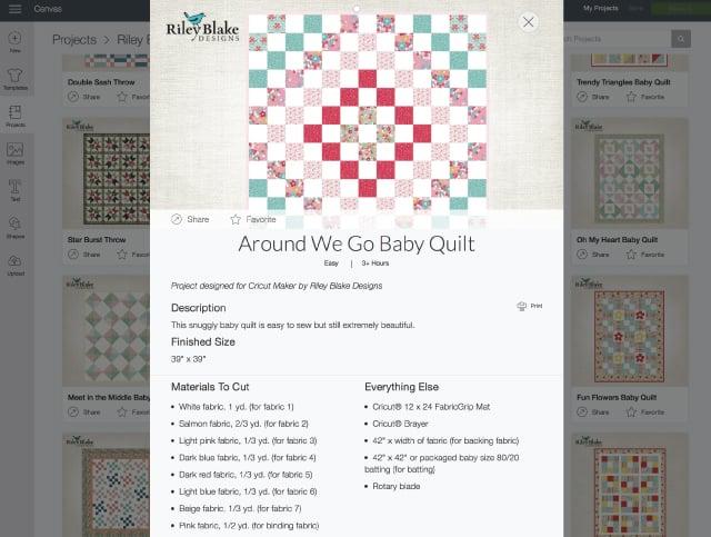 Riley Blake Quilt Kits