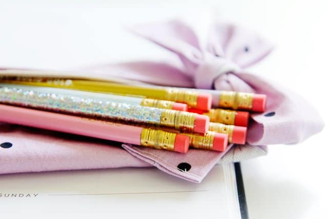 DIY Pencil Pouch with a bow | See Kate Sew