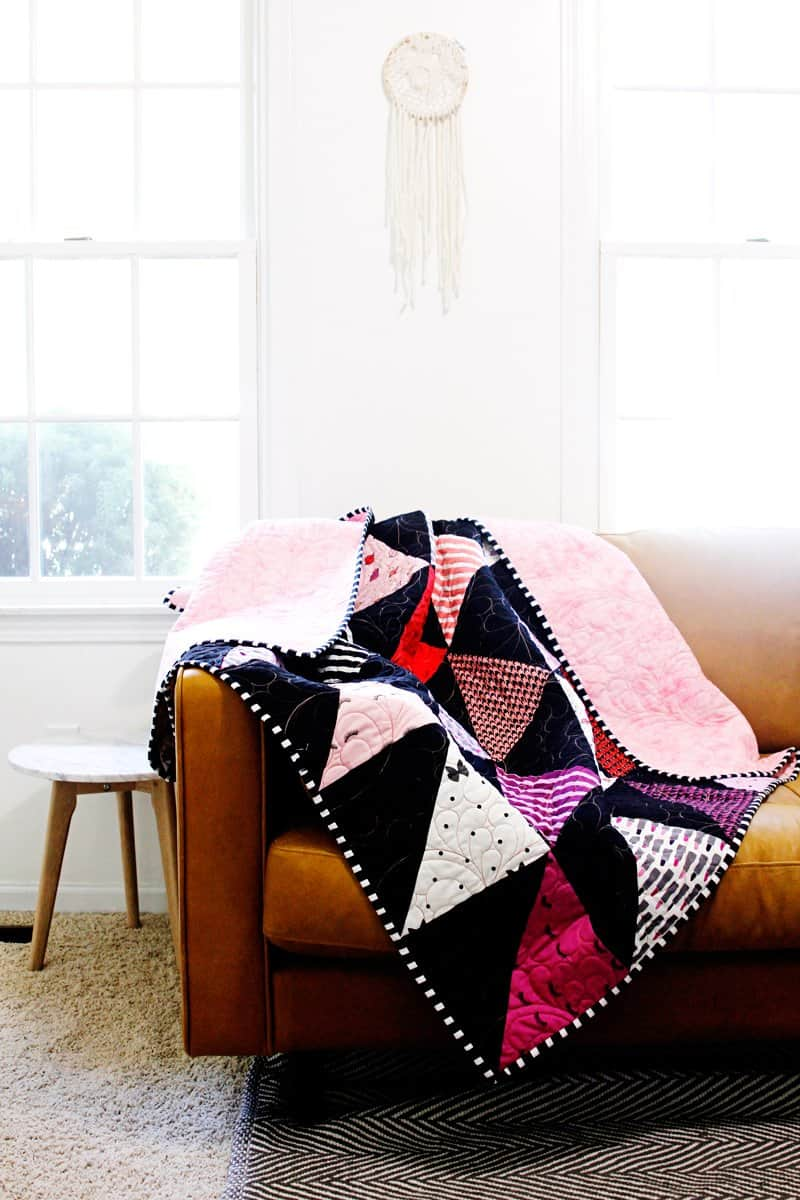 Half Square Triangle Quilt | Easy Quilt Tutorial | Free Quilt Pattern | Triangle Quilt Pattern | Triangle Quilt Tutorial | Half Square Triangle Quilt Pattern | How to Make a Half Square Triangle Quilt | Kiss Me, Kate Quilt | HST Quilt Tutorial | Free HST Quilt Pattern | Easy HST Quilt Pattern || Kiss Me Kate #hstquiltpattern #freequiltpattern #halfsquaretrianglequilt #easyquiltpattern #freehstquiltpattern #easyquilttutorial #kissmekate
