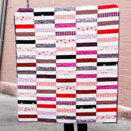Jelly Roll Quilt Pattern