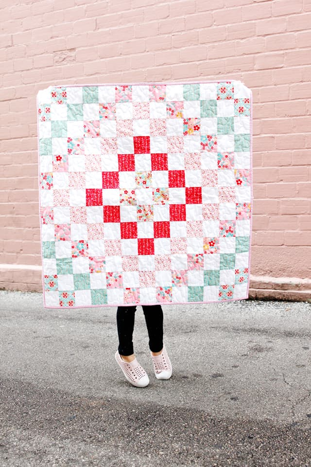 Around We Go Baby Quilt with the Cricut Maker Fabric Cutting Machine | Baby Quilt Tutorial | Around We Go Quilt Pattern | Baby Quilt Pattern | Making A Quilt with the Cricut Maker | DIY Baby Quilt | Riley Blake Quilt Kit | Cricut Maker | Baby Quilt Pattern || See Kate Sew #rileyblake #cricutmaker #babyquilt #quilttutorial #seekatesew