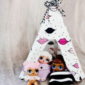 DIY DOLL TENT TUTORIAL