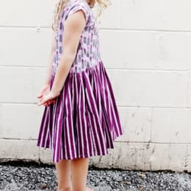 Little Zippy Girl's Dress Tutorial