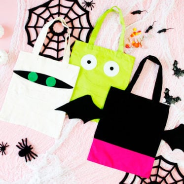 Trick or Treat Bag Pattern