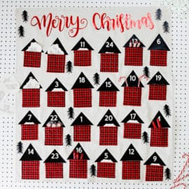 Sew a Pocket Advent Calendar
