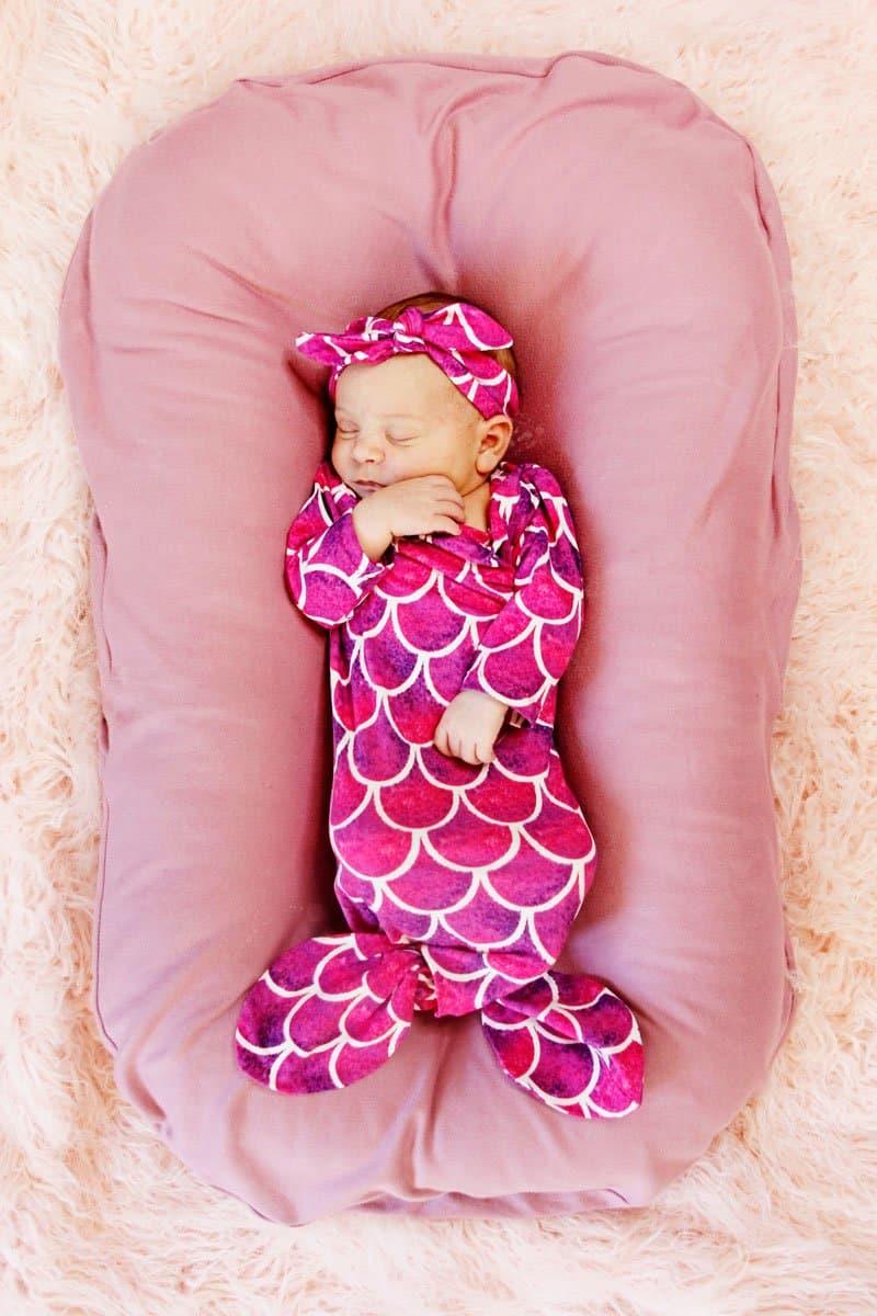 DIY Mermaid Baby Costume | Baby Costume | Mermaid Costume | Baby Costume | DIY Mermaid Costume | DIY Baby Costume | Sewing Tutorial || See Kate Sew #diybaby #seekatesew