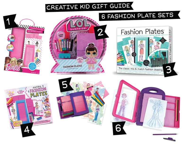 Fashion Plates for Kids