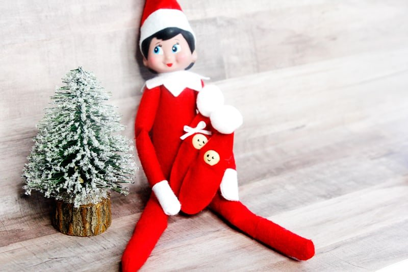 How to Make a Baby Elf on the Shelf | Elf on the Shelf | Baby Elf on the Shelf | How to Make a Baby Elf on the Shelf | DIY Baby Elf on the Shelf | DIY Kids Toys | Easy Sewing Christmas Pattern | Elf on the Shelf Tutorial || See Kate Sew #elfontheshelf #babyelf #sewingtutorial #seekatesew