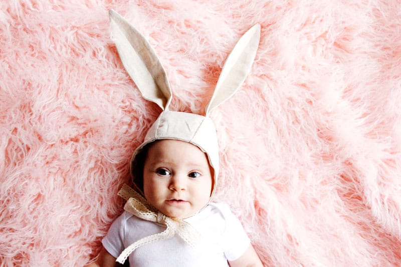 Bunny  Bonnet Tutorial | DIY Baby Bonnet | Easter Baby Bonnet | Bonnet Tutorial | Bunny Bonnet | How to Make a Baby Bonnet | Free Baby Bonnet Tutorial || See Kate Sew #sewingtutorial #diybaby #easterbonnet #seekatesew