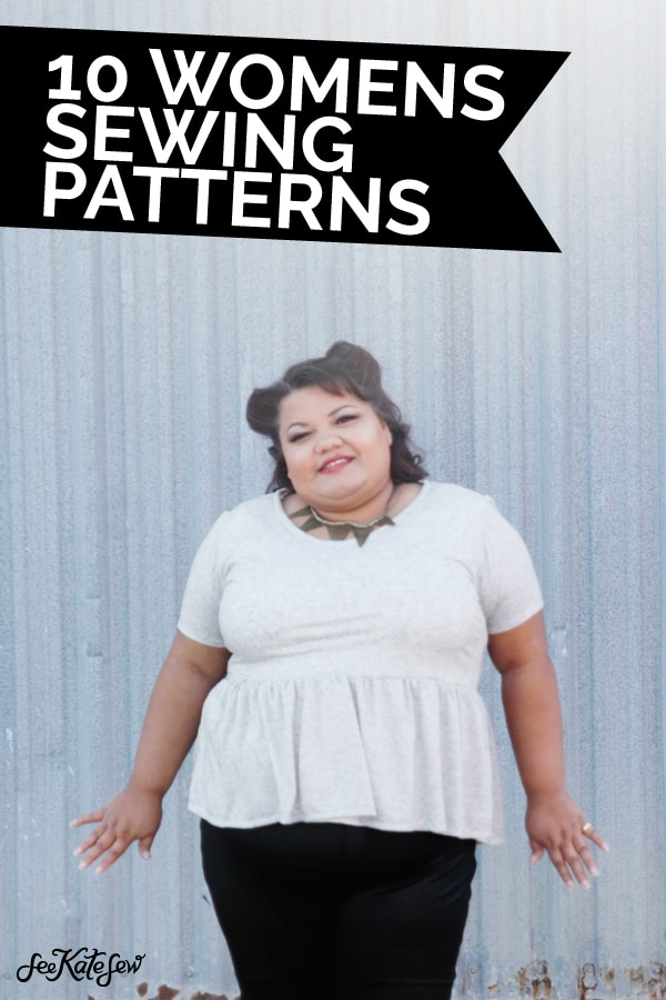 10 womens sewing patterns