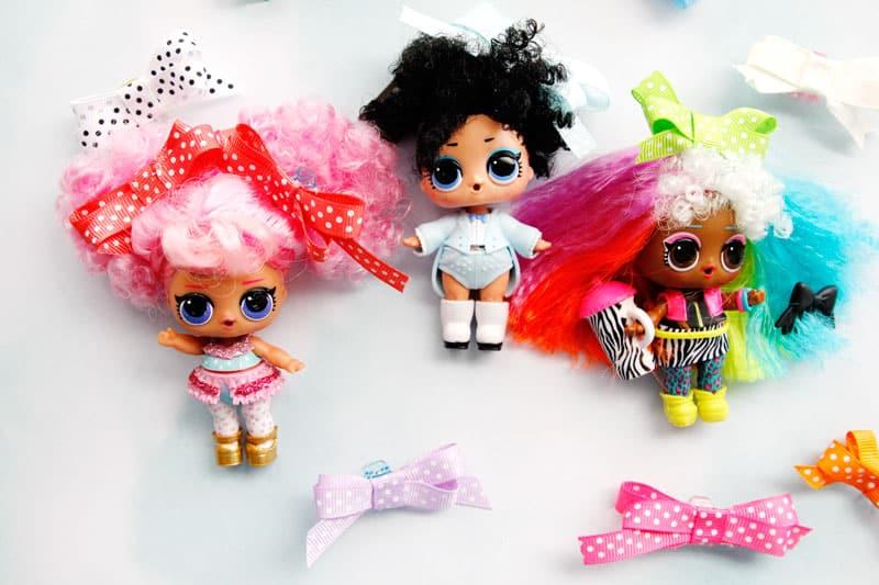 LOL Doll Hair Bows