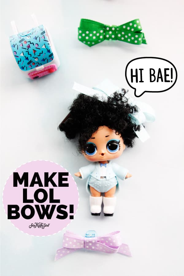 Get your craft on with these 10 LOL Doll Crafts! Easy to make and fun to play with, these crafts only need little scraps of material and encourage hours of imaginative play!    See Kate Sew #loldolls #dollcrafts #kidstoys #dollaccessories #seekatesew