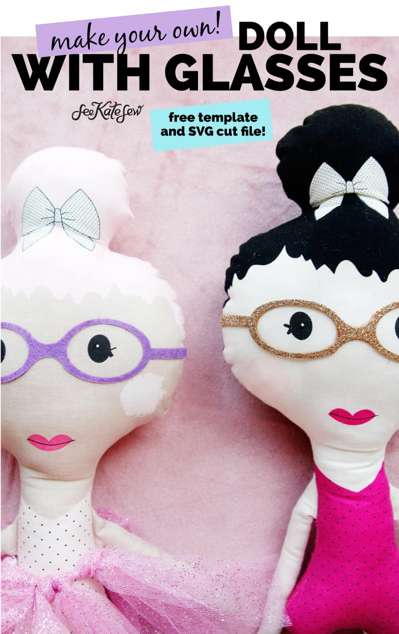 CUSTOM DOLL WITH GLASSES