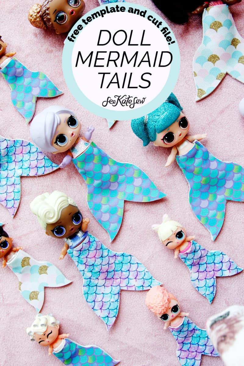 Mermaid Tails for LOL dolls!
