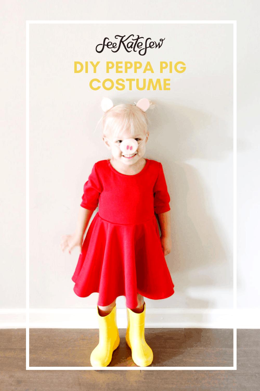 DIY Peppa Pig Costume