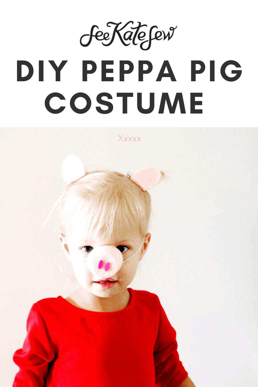 Easy Peppa Costume
