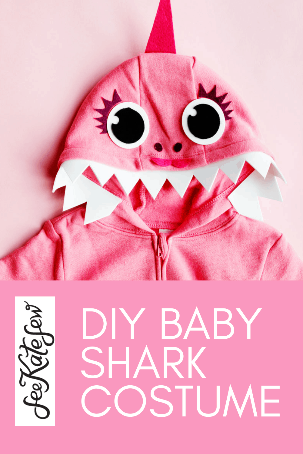 Make your own Baby Shark Costume